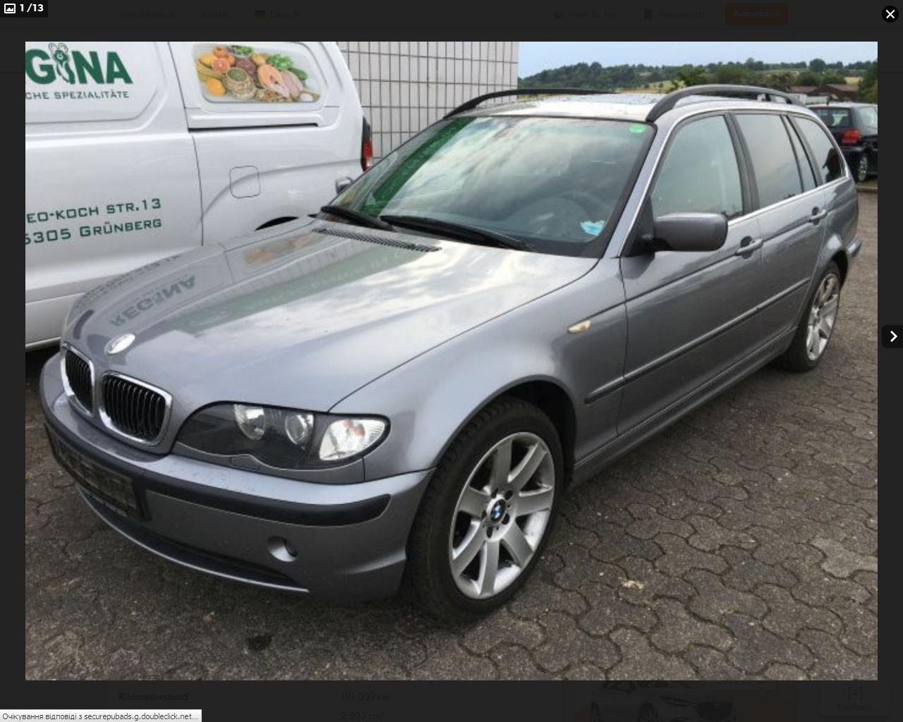 BMW 330d дизельная купить в Европе