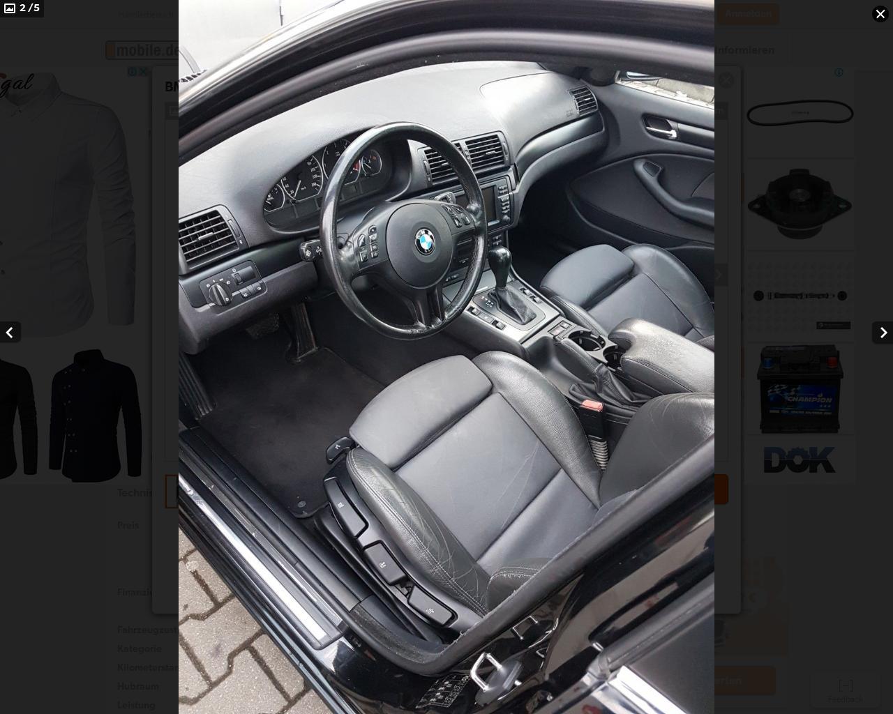 BMW 3 e46 кузов растаможить