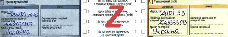 Европротокол п 7. Як правильно оформити при ДТП