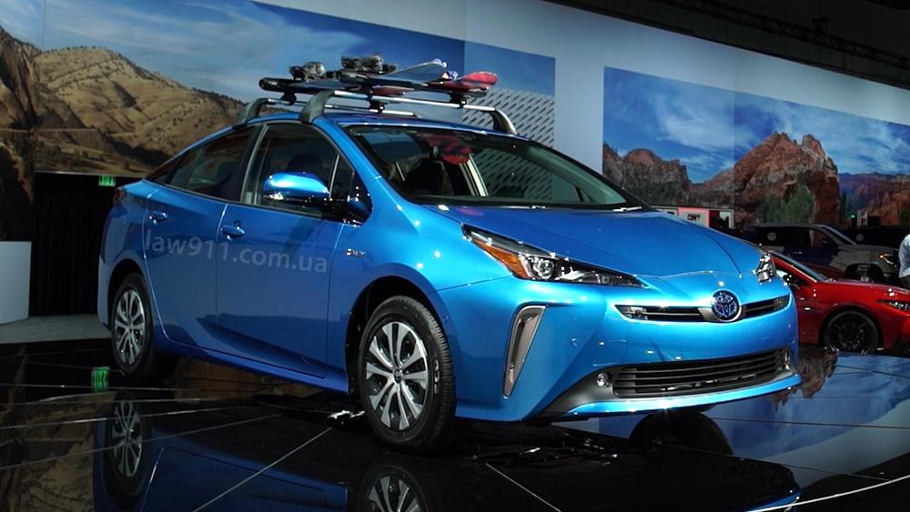 Toyota Prius растаможить с США