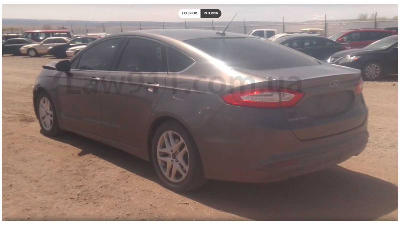 Ford Fusion за 500$ ззаду