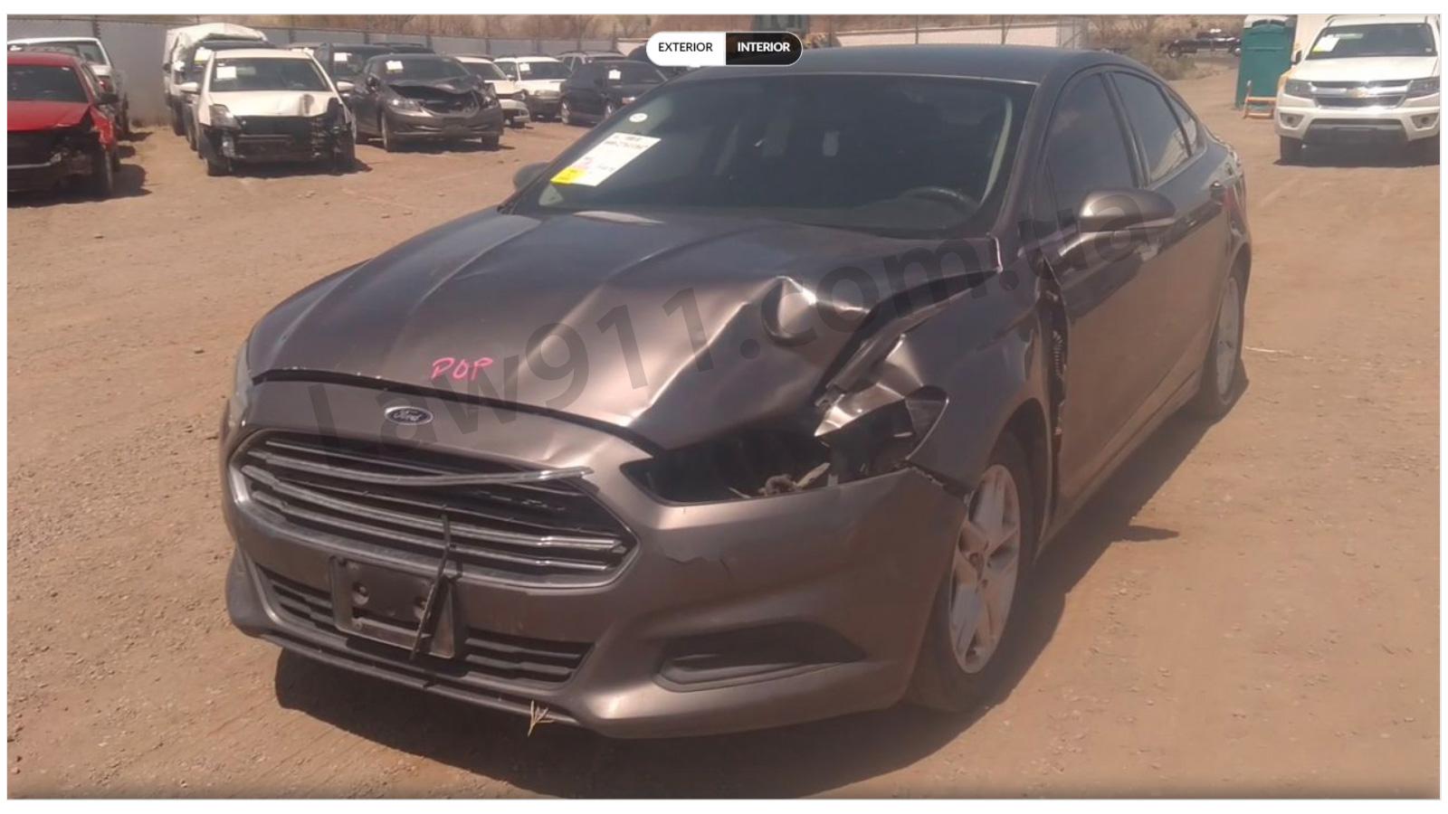 Ford Fusion за 500$ спереду