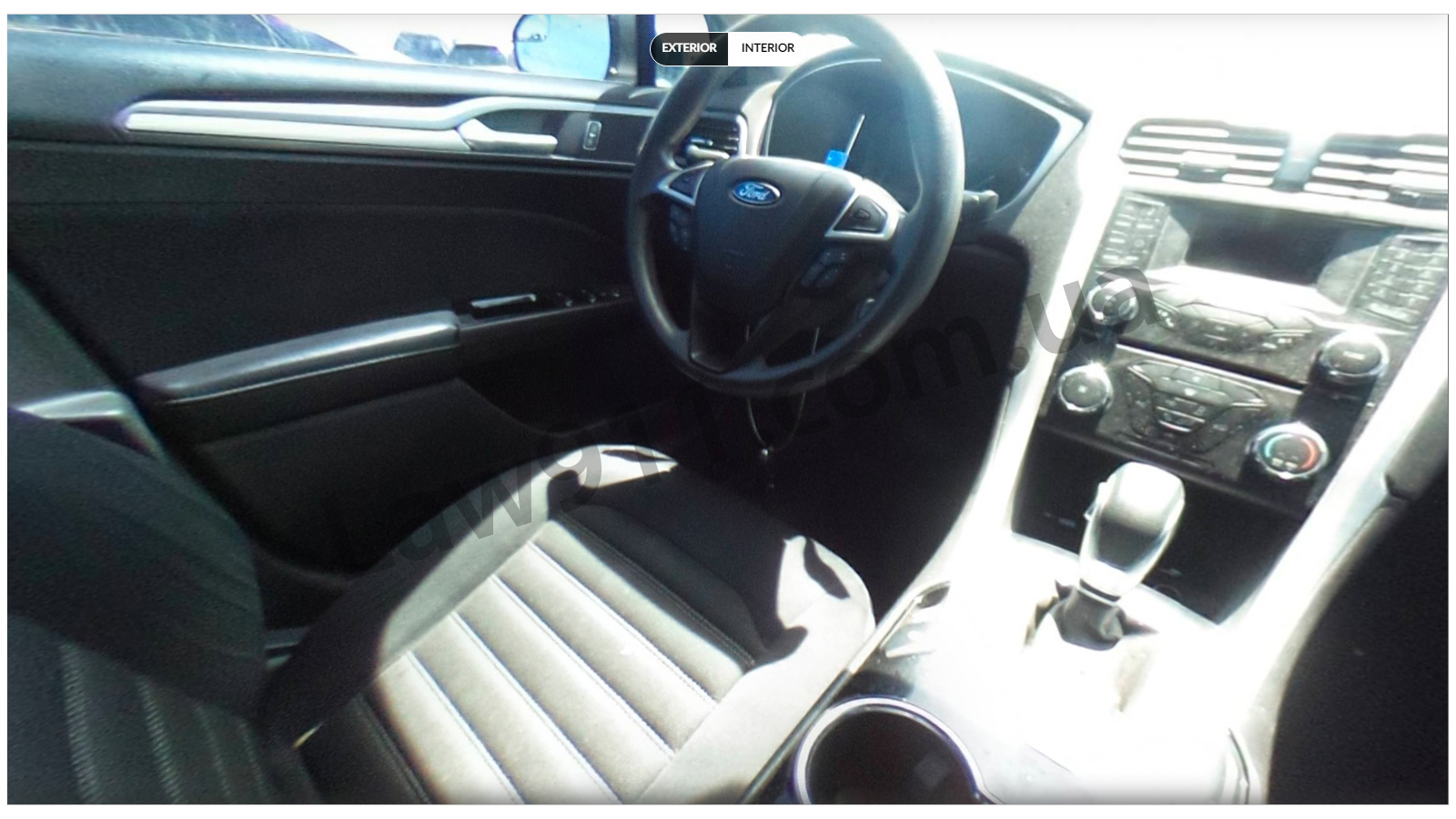 Ford Fusion за 500$ внутри