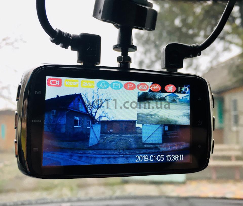 Dunobil Chrom Duo відеорегістратор в роботі