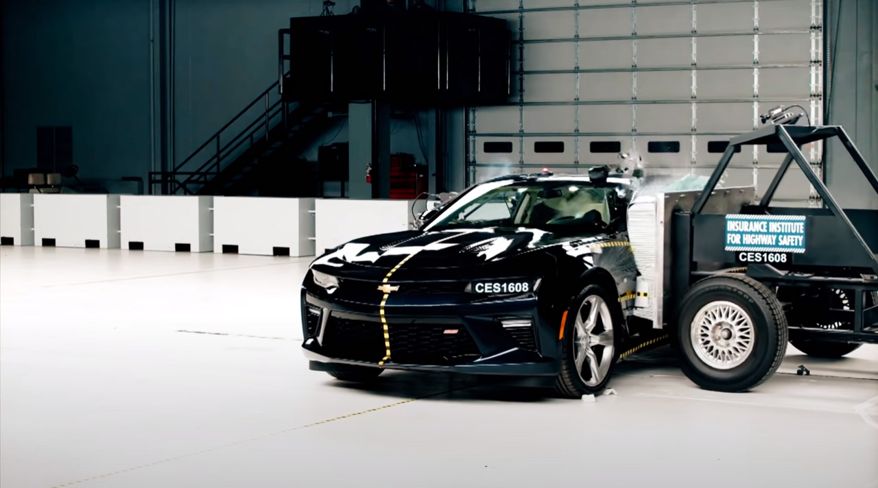 Краш-тест Chevrolet Сamaro